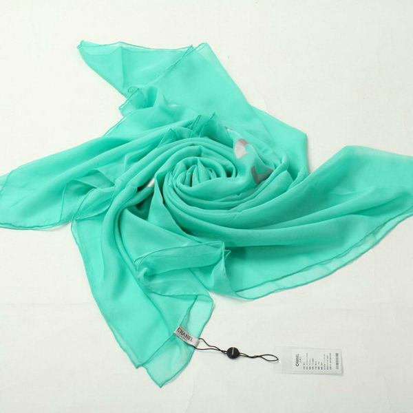 Chanel Scarves Silk WJCH039 Green