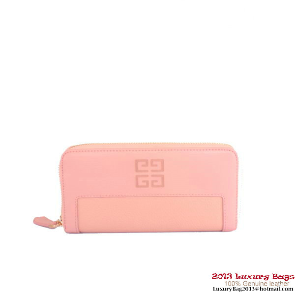 Givenchy Classics Zippy Wallet G405 Pink