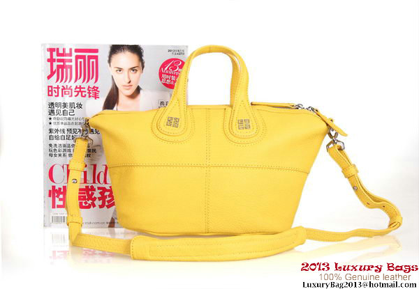 Givenchy Nightingale Leather Holdall Bag G6322 Yellow