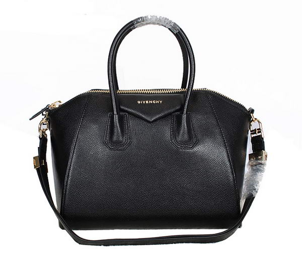 Givenchy Small Antigona Bag Grainy Leather 9981S Black