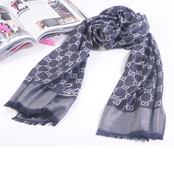 Gucci Scarves Silk WJGG11 Black