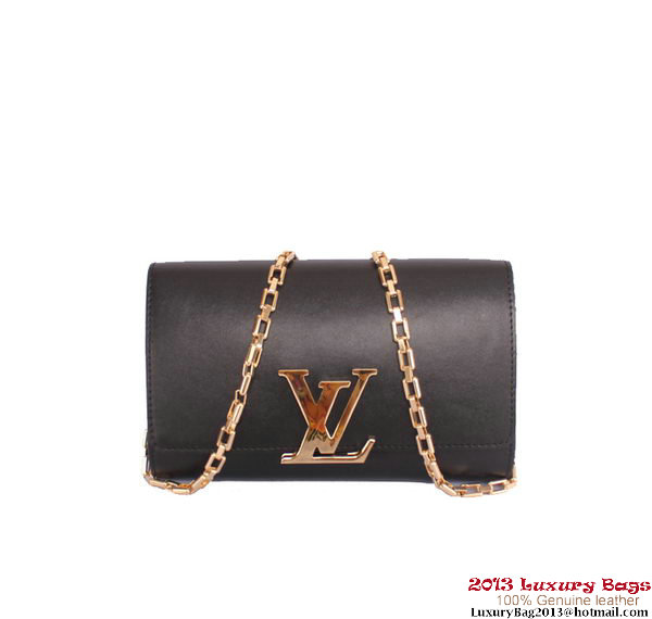 Louis Vuitton 2013 Chain Louise M94336 Black