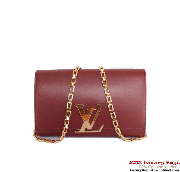Louis Vuitton 2013 Chain Louise M94336 Burgundy