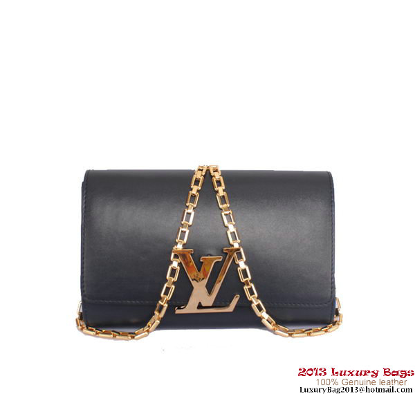 Louis Vuitton 2013 Chain Louise M94336 Dark Blue