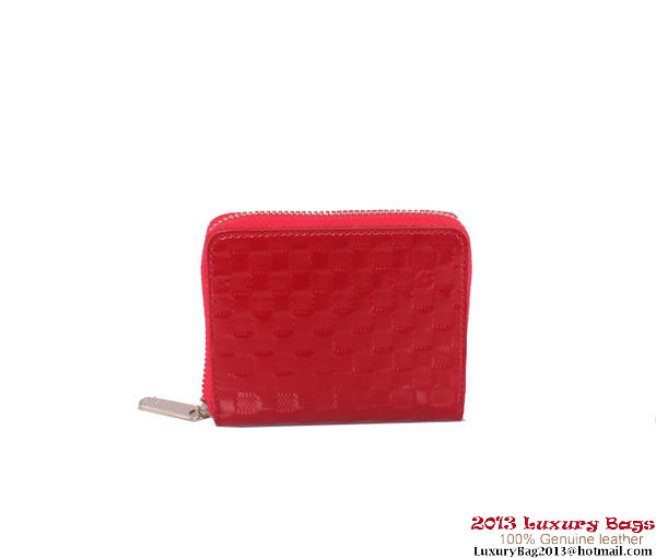 Louis Vuitton 2013 Fashion Show Zippy Coin Purse M94405 Red