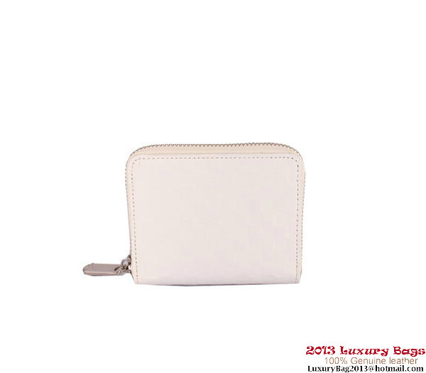 Louis Vuitton 2013 Fashion Show Zippy Coin Purse M94405 White