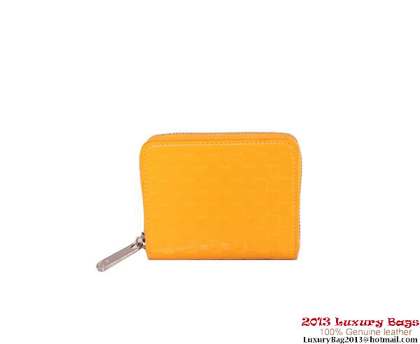 Louis Vuitton 2013 Fashion Show Zippy Coin Purse M94405 Yellow