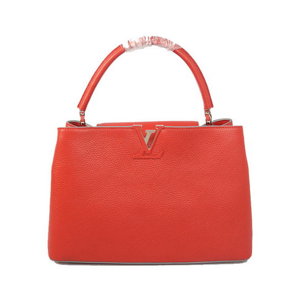 Louis Vuitton Elegant Capucines Bag MM M38862 Red