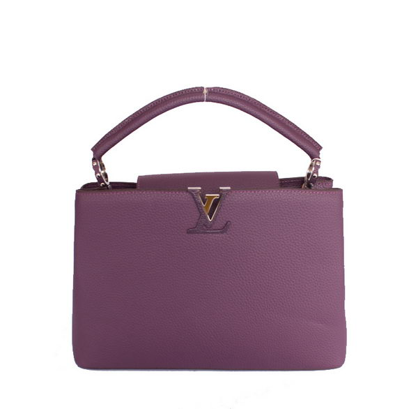 Louis Vuitton Elegant Capucines Bag MM M48869 Purple