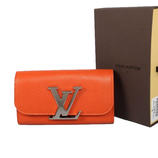 Louis Vuitton M58176 Orange Vivienne LV Long Wallet