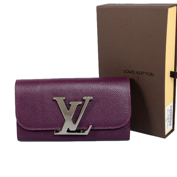 Louis Vuitton M58176 Purple Vivienne LV Long Wallet