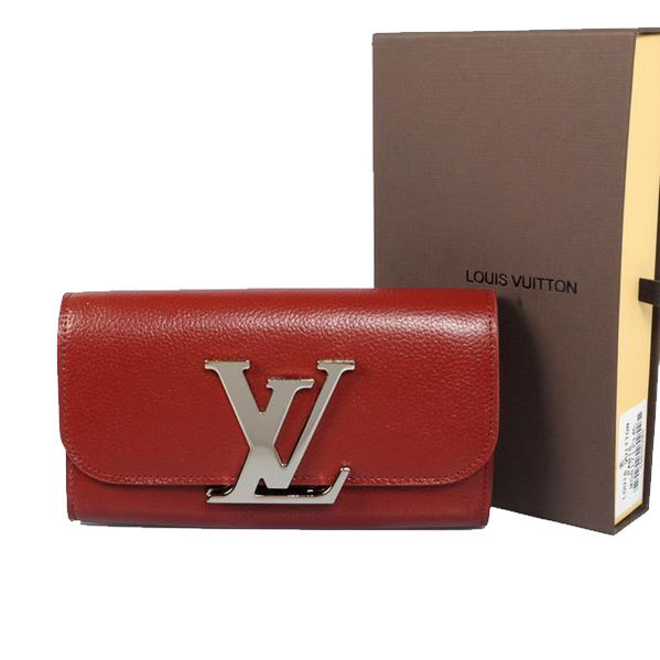 Louis Vuitton M58176 Red Vivienne LV Long Wallet