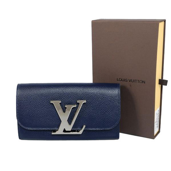 Louis Vuitton M58176 RoyalBlue Vivienne LV Long Wallet