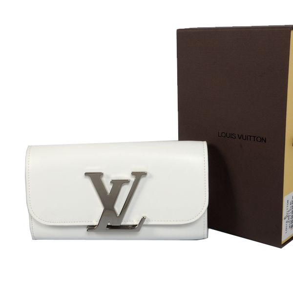 Louis Vuitton M58176 White Vivienne LV Long Wallet