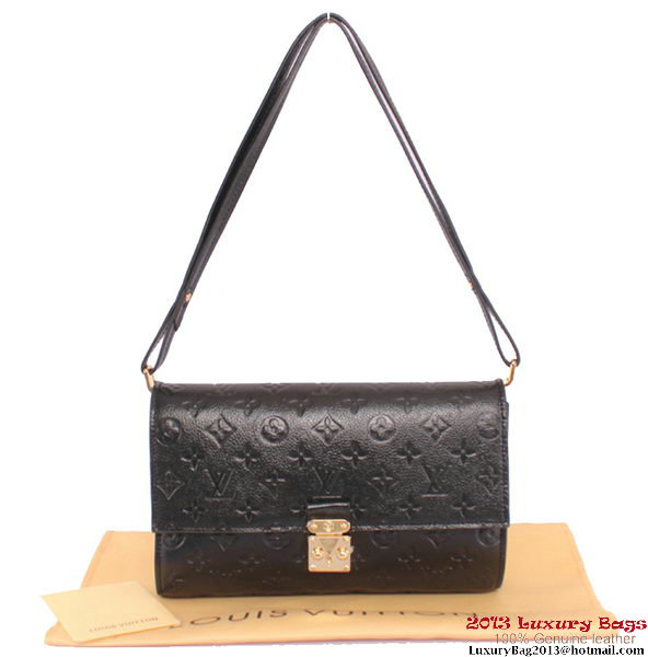Louis Vuitton M94225 Black Monogram Empreinte Fascinante Bag