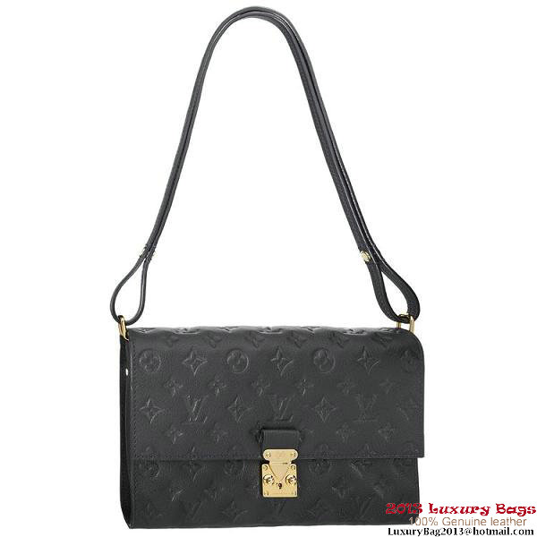 Louis Vuitton Monogram Empreinte Fascinante Bag M94225 Black