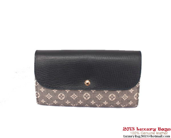 Louis Vuitton Monogram Idylle Wallet M60458 Blue