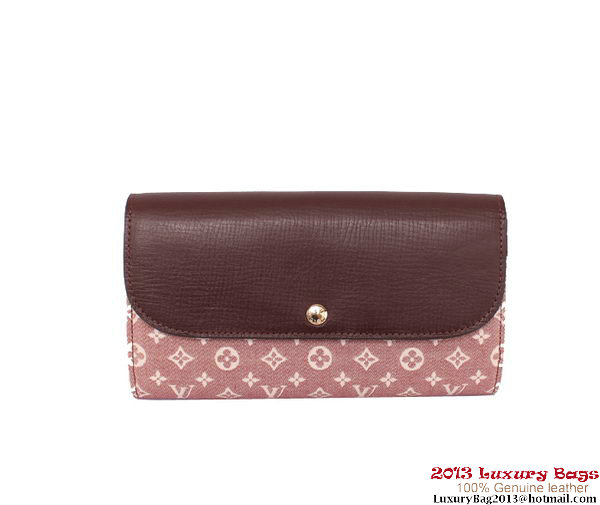 Louis Vuitton Monogram Idylle Wallet M60458 Pink