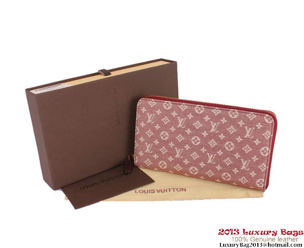Louis Vuitton Monogram Idylle Zippy Wallet M63010 Pink