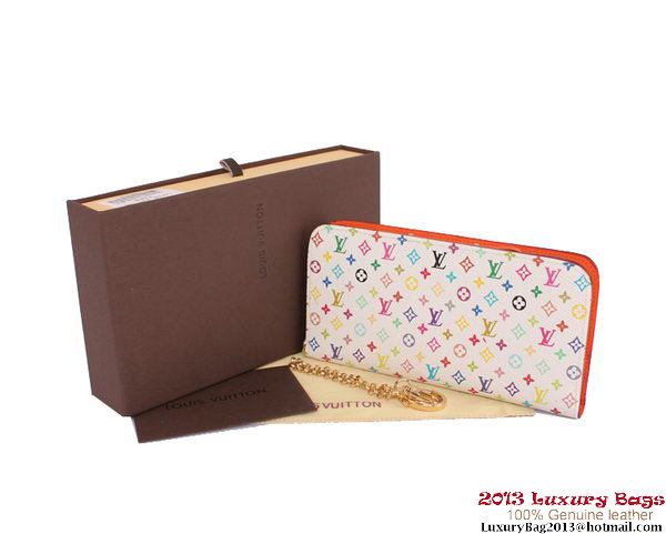 Louis Vuitton Monogram Multicolore Insolite Wallet M60270 Orange