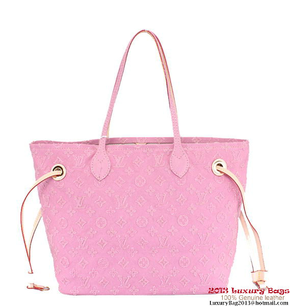 Louis Vuitton Monogram Stone Neverfull MM M40833 Pink