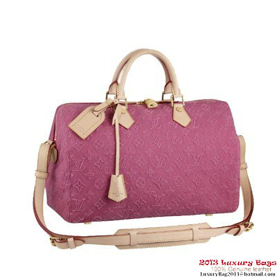 Louis Vuitton Monogram Stone Speedy 35 M40831 Pink