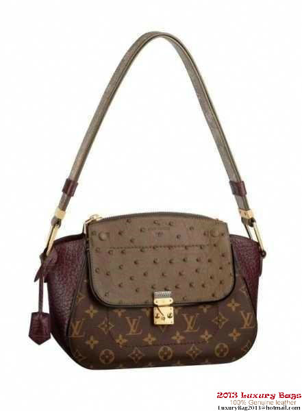 Louis Vuitton Precious Leather Majestueux Bag N91280