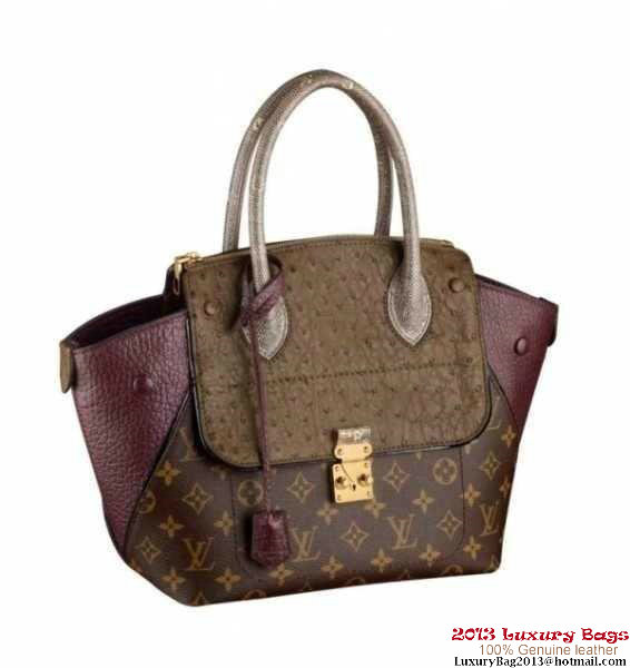 Louis Vuitton Precious Leather Majestueux Tote PM N91278