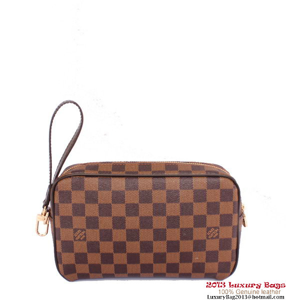 Louis Vuitton Saint Paul Clutch Damier Ebene N41219
