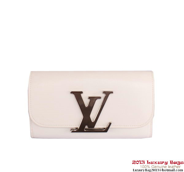 Louis Vuitton Vivienne LV Long Wallet M58171 White