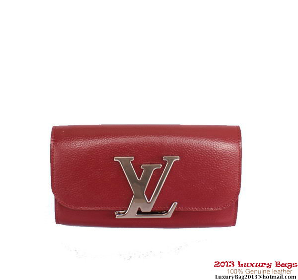 Louis Vuitton Vivienne LV Long Wallet M58177 Cherry
