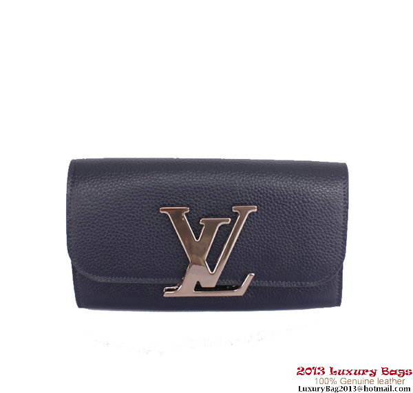 Louis Vuitton Vivienne LV Long Wallet M58177 RoyalBlue