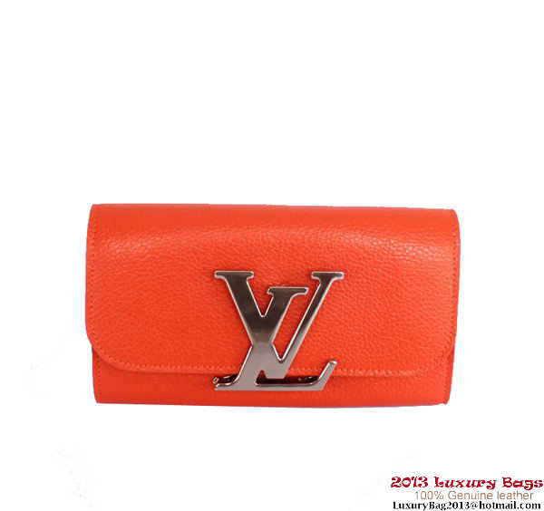 Louis Vuitton Vivienne LV Long Wallet M58178 Orange