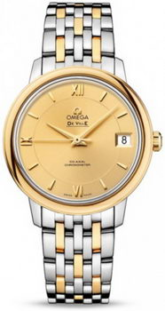 Omega De Ville Prestige Co-Axial Watch 158616K