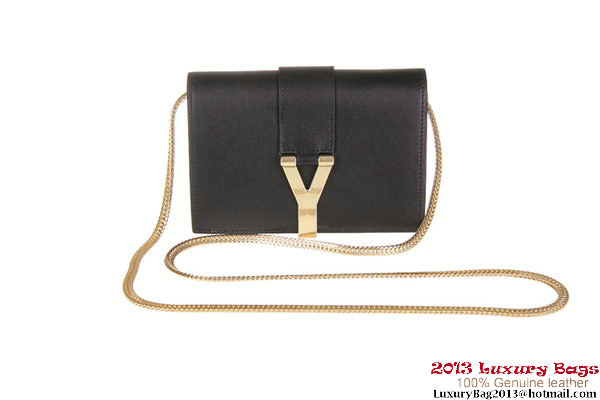 Yves Saint Laurent Chyc mini Travel Case Y0050 Black
