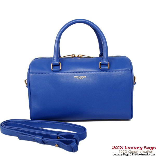Yves Saint Laurent Classic Duffle Bag Y10 Blue