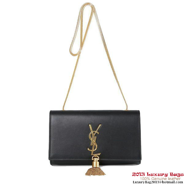 Yves Saint Laurent Small Monogramme Cross-body Shoulder Bag 5475 Black