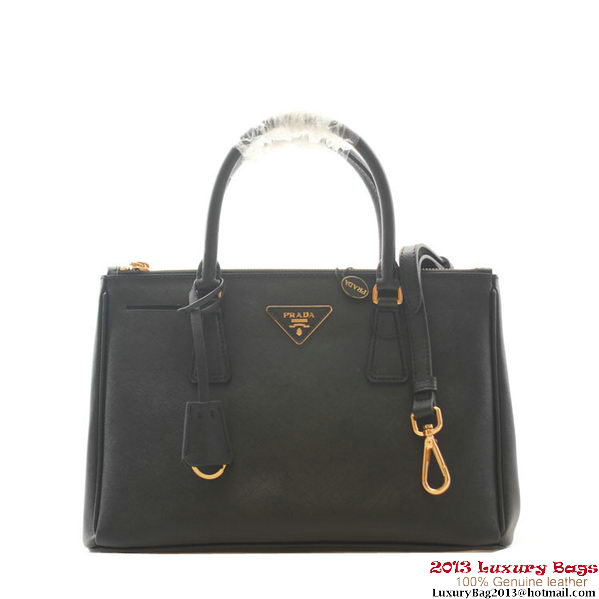 62a1ce1f45a7 Prada Saffiano Leather 30cm Tote Bag BN1801 Black