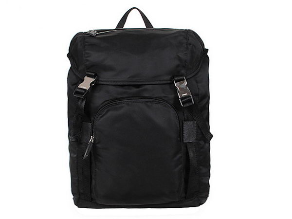 PRADA Technical Fabric Backpack V135 Black
