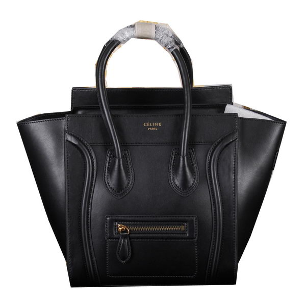 Celine Luggage Micro Bag Original Calfskin Leather C3308 Black