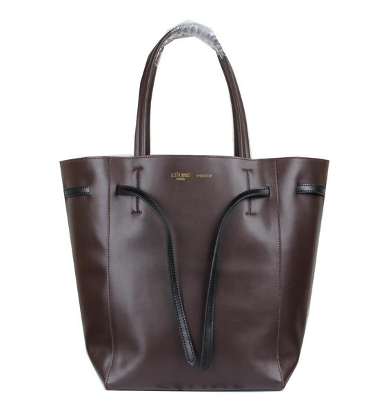 Celine Medium Cabas Phantom Bag Calfskin C3385 Brown
