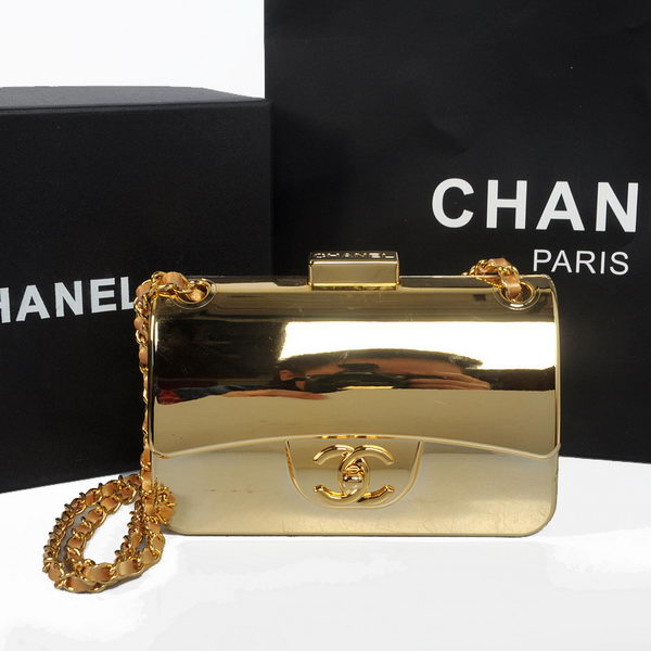 Chanel Spring 2014 Classic mini Flap Bag A30198 Gold