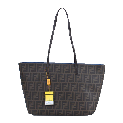 Fendi Classic Shopping Bag in Fabric Logo FD2593S Blue