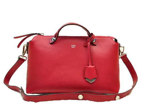 Fendi Fall Winter 2015 Tote Bags Original Leather F52208 Red
