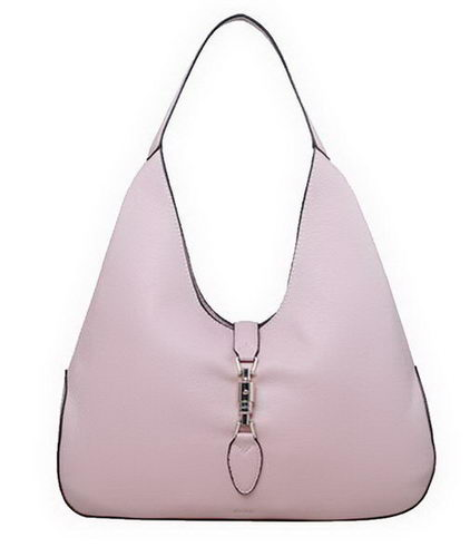 Gucci Jackie Soft Leather Hobo Bags 362968 Light Pink