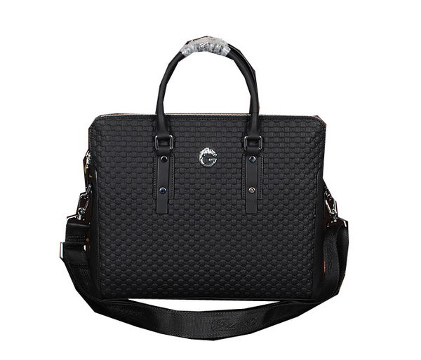 Gucci Original Guccissima Leather Business Briefcase BN1902 Black