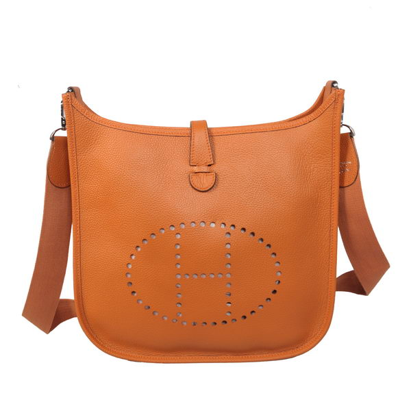 Hermes Evelyne Messenger Bag H1608 Orange