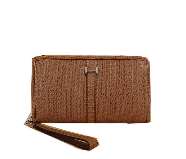 Hermes Original Leather Clutch H2898 Wheat
