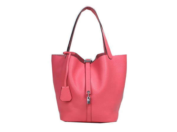 Hermes Picotin Lock MM Bag in Original Leather Rosy