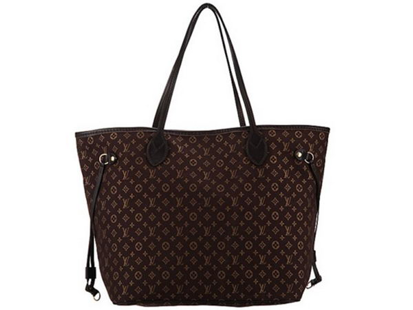 LOUIS VUITTON M40513 Monogram Idylle Canvas Neverfull MM Fusain